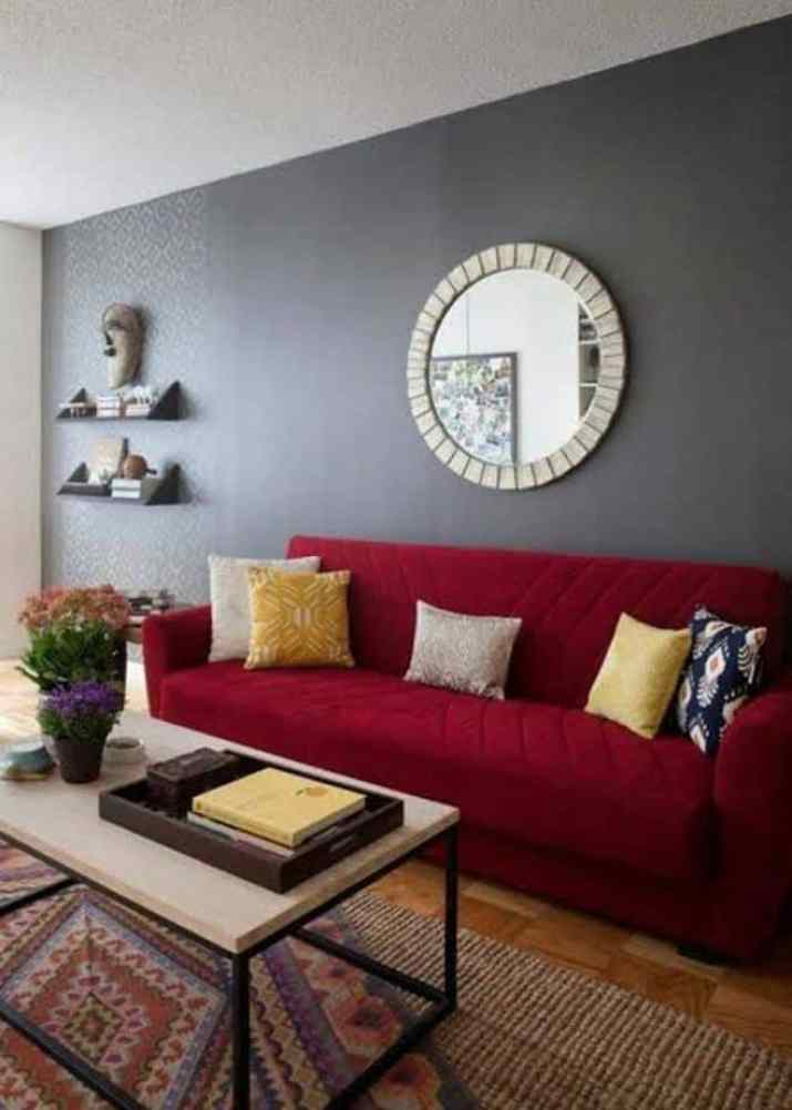 Red, Comfy Couch