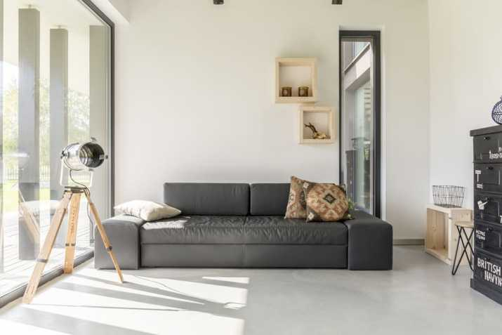 Container As Living Room Storage