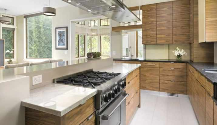 Extravagant Kitchen Island with Cooktop