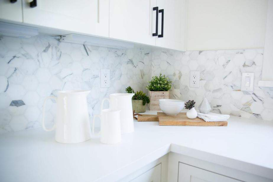 Unique, Marble Kitchen Backsplash