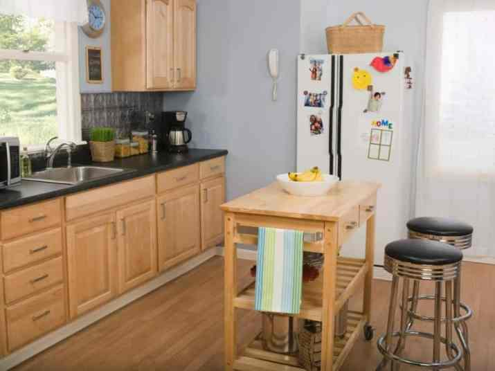 Simple, Cheap Kitchen Island Idea