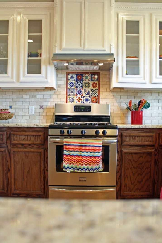 Porte-ustensiles de cuisine coloré