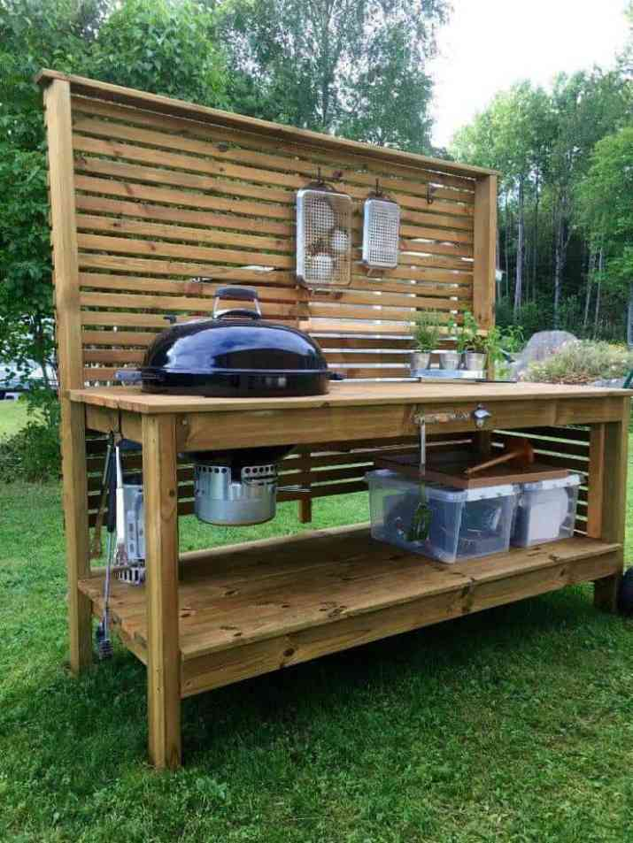 Portable DIY Outdoor Kitchen