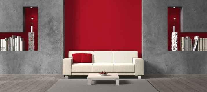 Interesting Grey Living Room