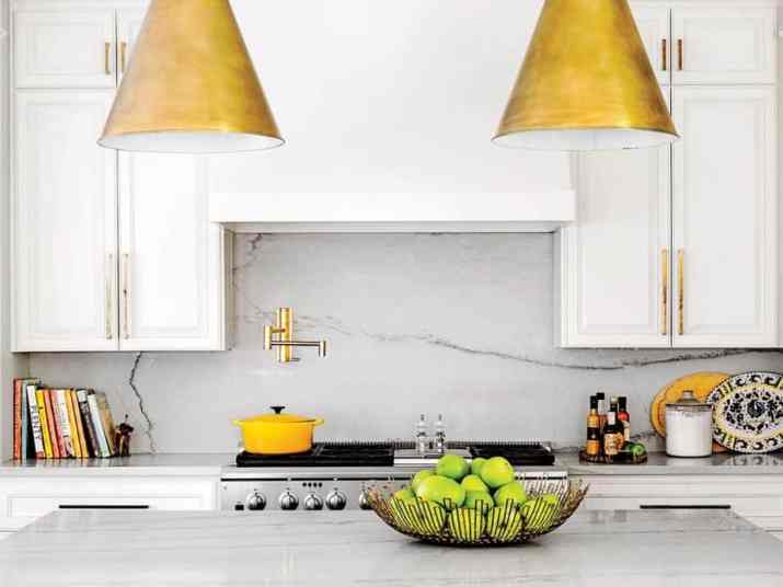 All-Clear, Marble Kitchen Backsplash