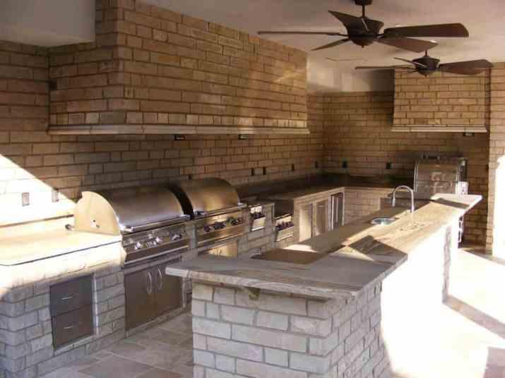 Modern Country Outdoor Kitchen