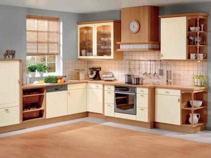 Outstanding Two Toned Kitchen Cabinet