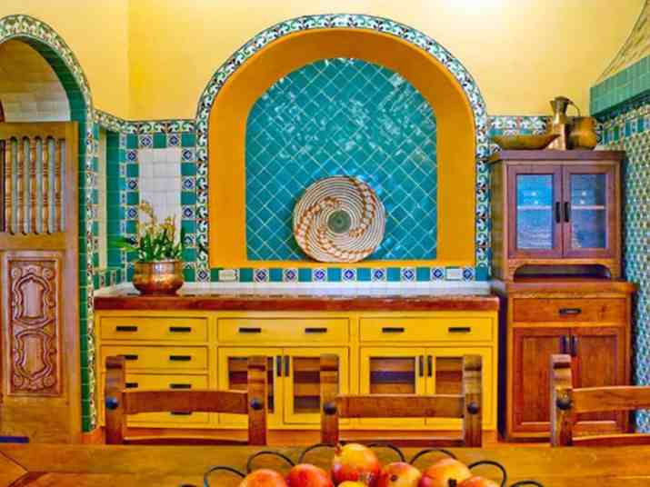 Captivating Colorful Kitchen