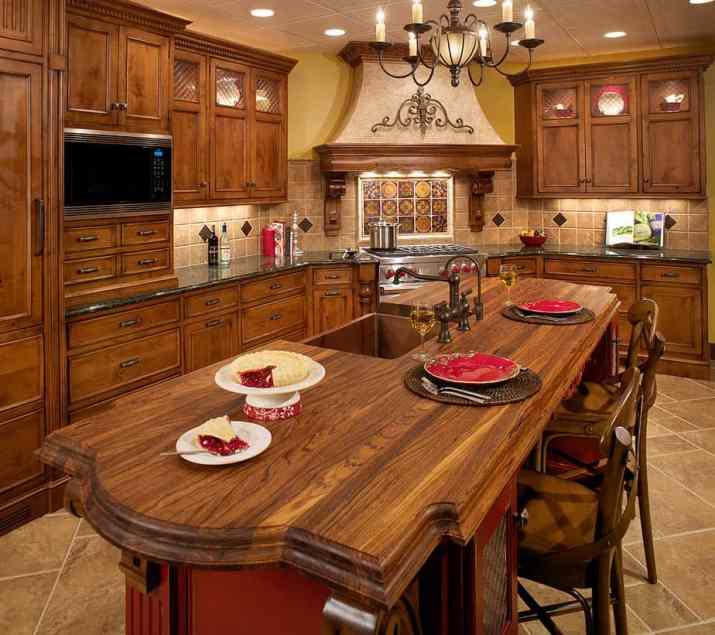 Elegant Tuscan Kitchen