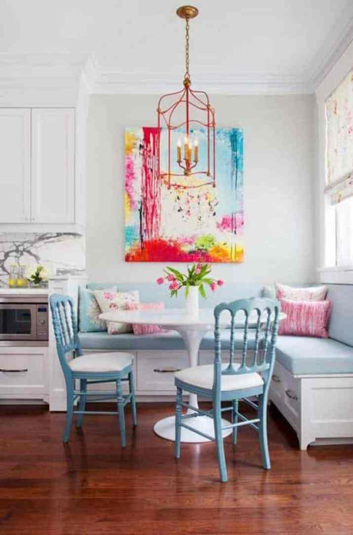 Colorful, Enthusiastic Kitchen