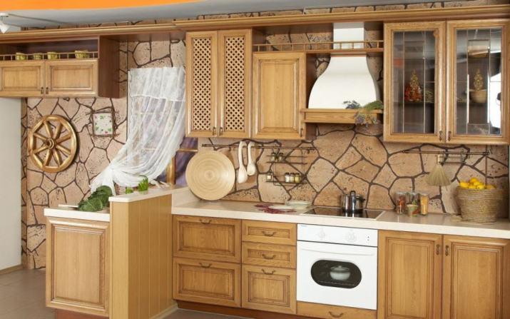 Light Tuscan Kitchen