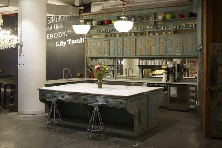 Unique Office Kitchen