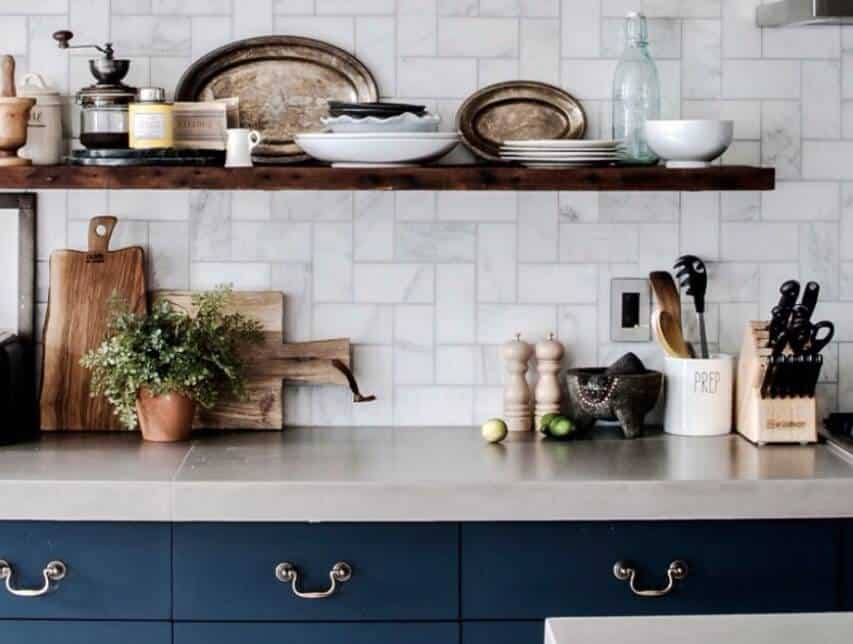10 Rustic Kitchen Cabinet Ideas 2020 (For Fabulous Kitchen Look) 1