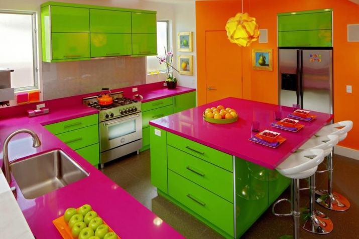 Sparkling Colorful Kitchen