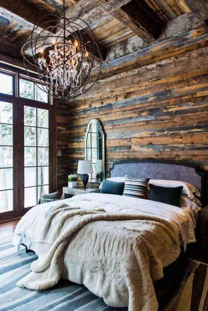 Natural French Country Bedroom