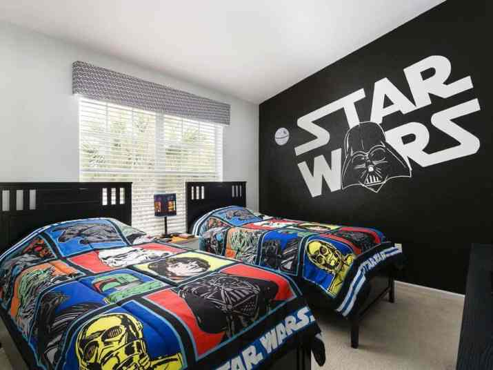 Brave Star Wars Bedroom
