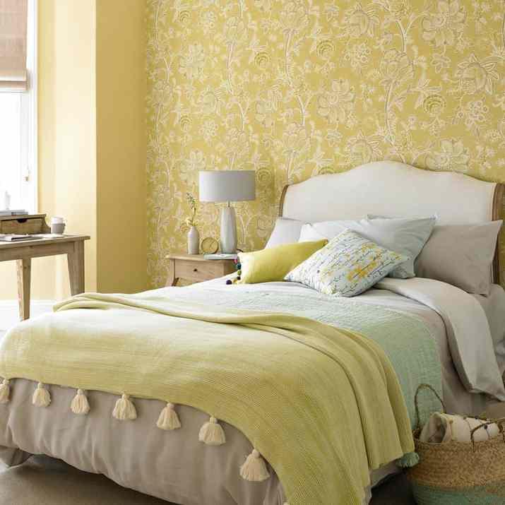 Cheerful Relaxing Bedroom