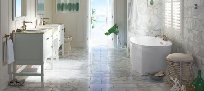 Coastal Zen Bathroom