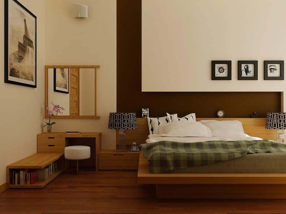 Humble Relaxing Bedroom