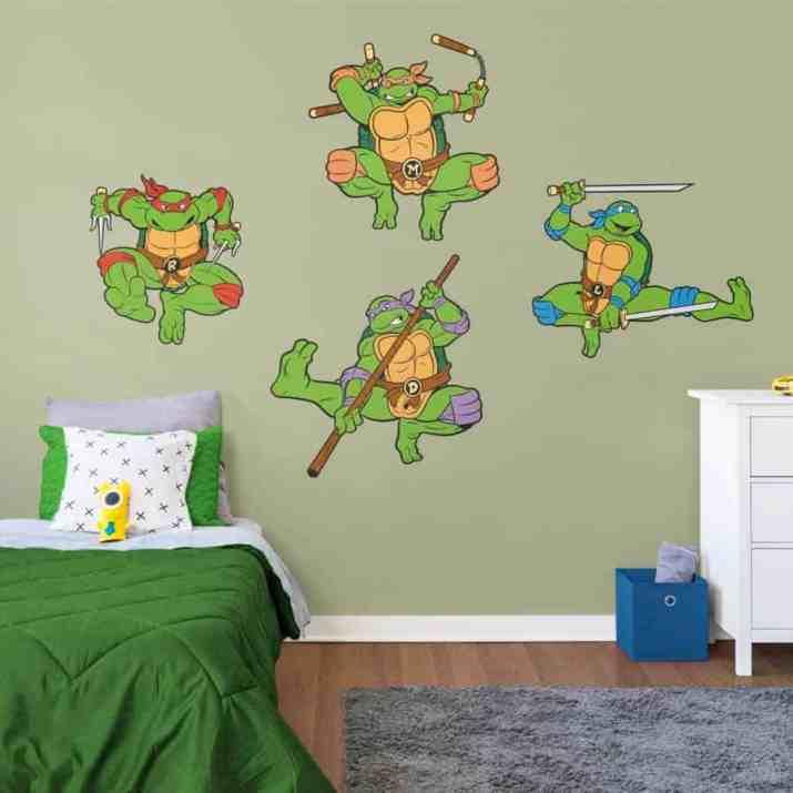 Comfortable Ninja Turtles Bedroom