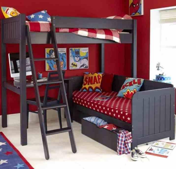 Cool Superhero Bedroom