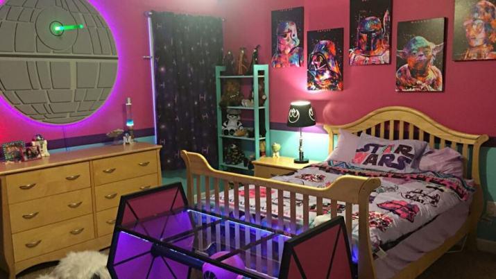 Enjoyable Star Wars Bedroom
