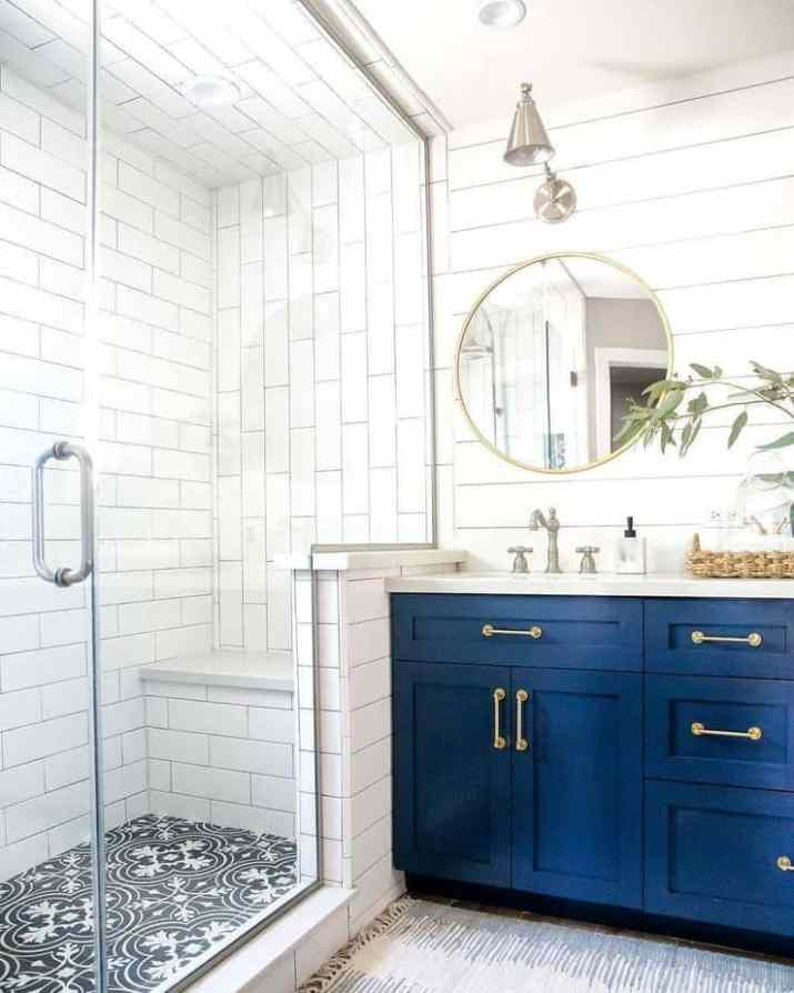 Tile and Gypsum as Bathroom Ceiling