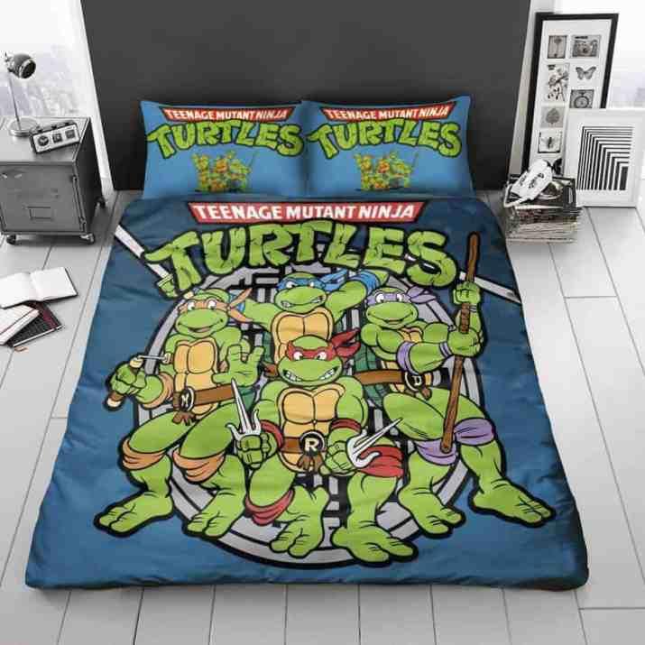 Homey Ninja Turtles Bedroom