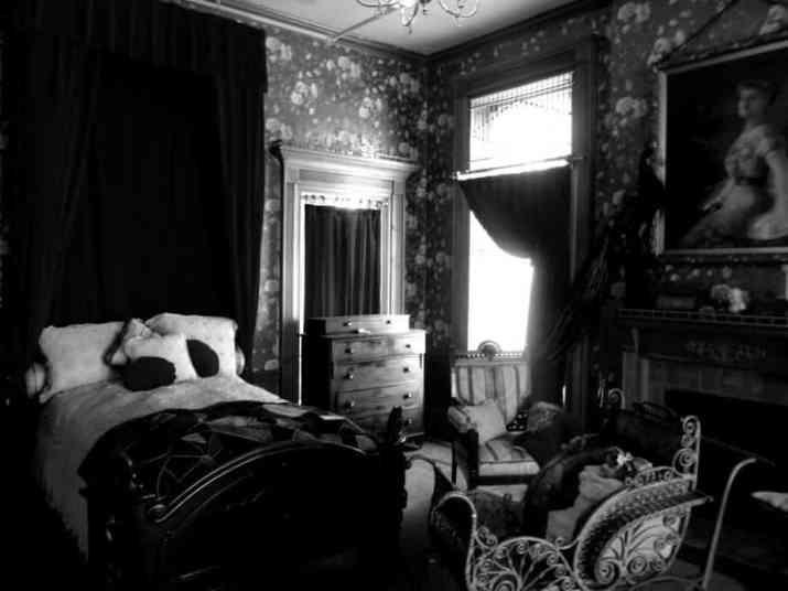 Woman Gothic Bedroom
