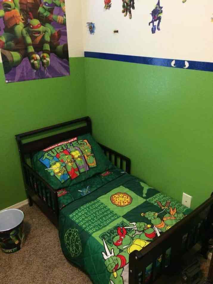 Inexpensive Ninja Turtles Bedroom