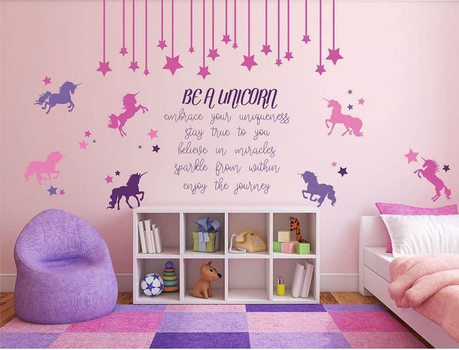 Inspiring Unicorn Bedroom