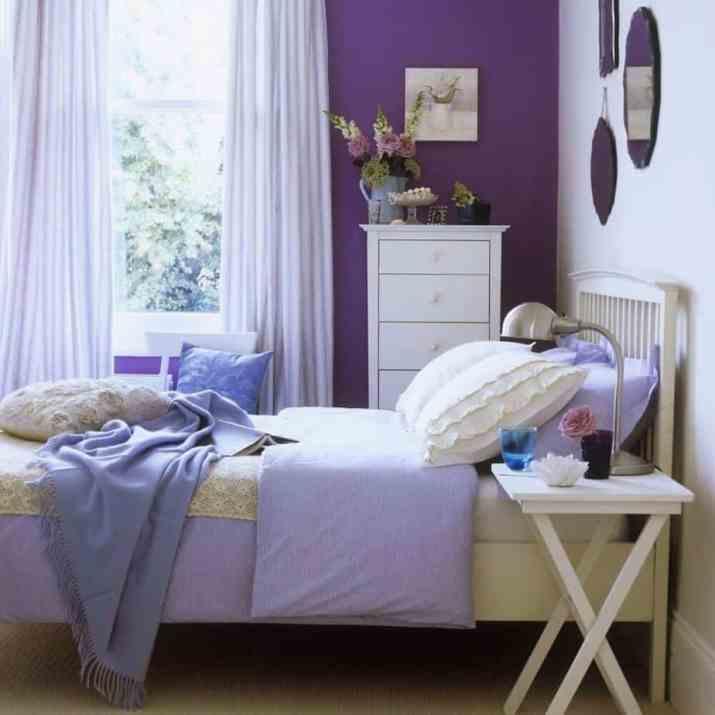 Lovely Purple Bedroom