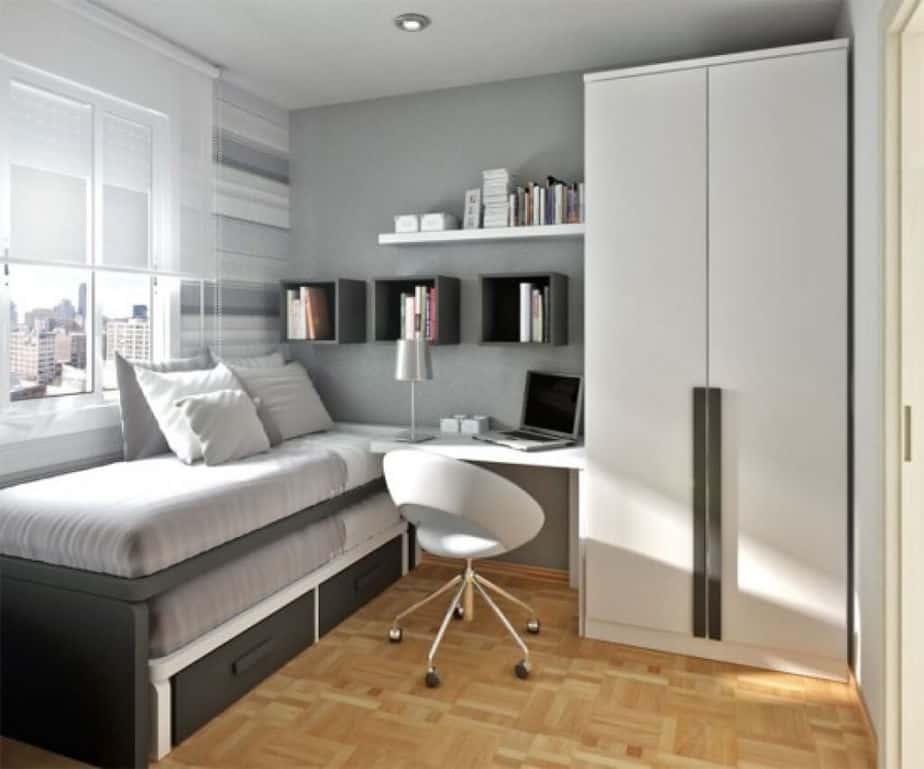Minimalist Young Adult Bedroom