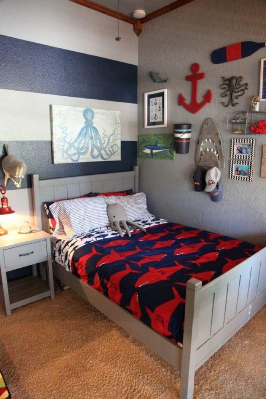 Nautical Minimalist Bedroom