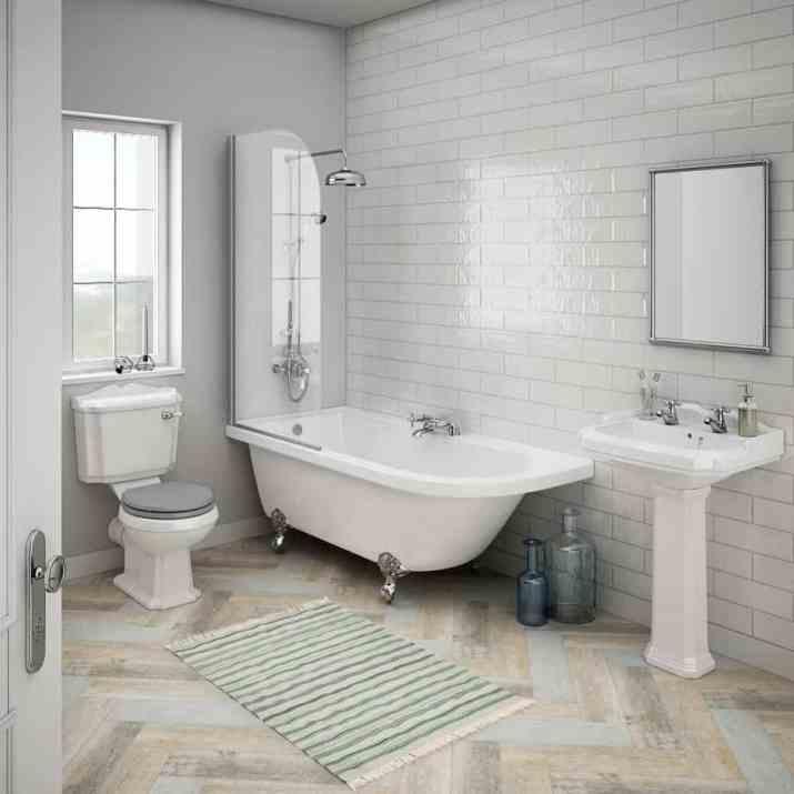 Pleasant Neutral Bathroom