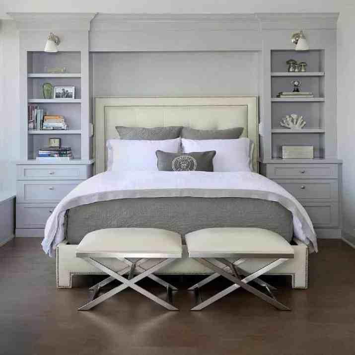 Peaceful Grey Bedroom