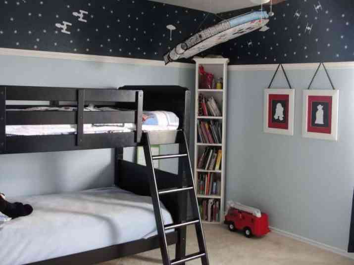 Simple Star Wars Bedroom
