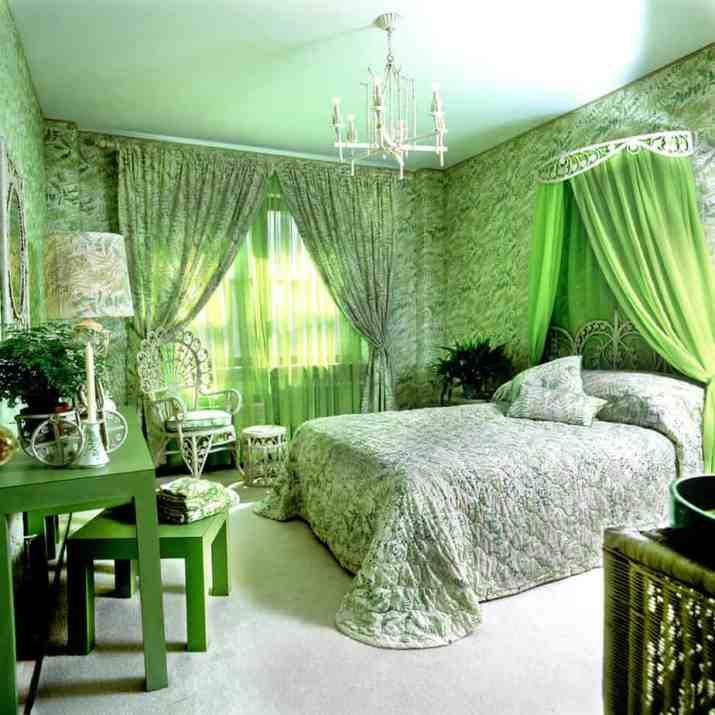 Green Princess Bedroom