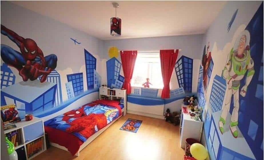Unbelievable Superhero Bedroom