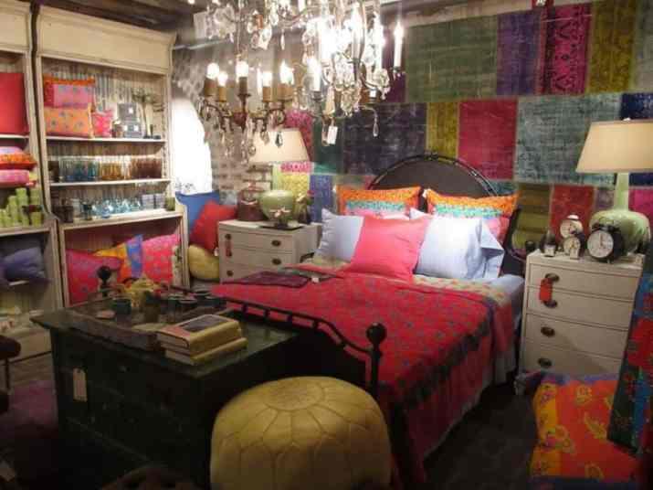 Vibrant Hippie Bedroom