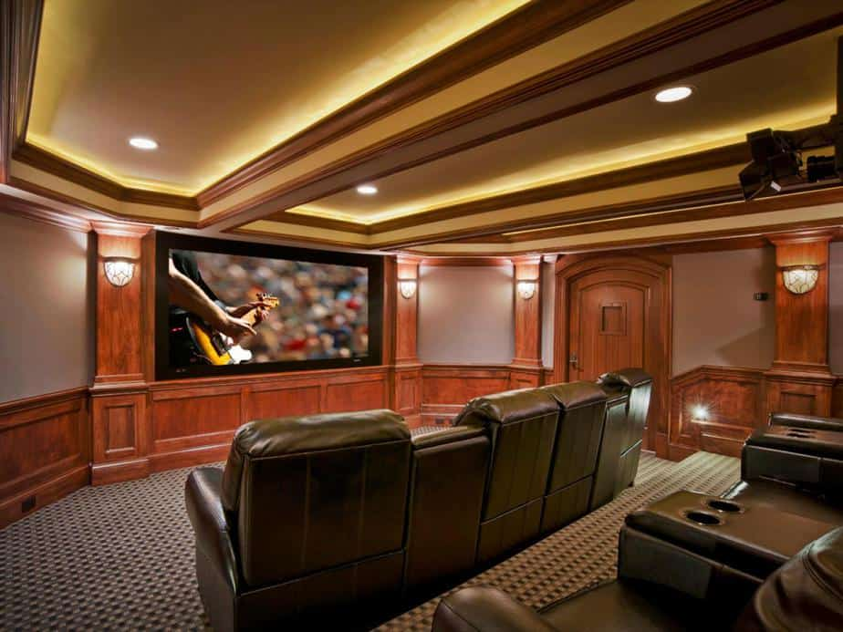 Cinema-Like Media Room
