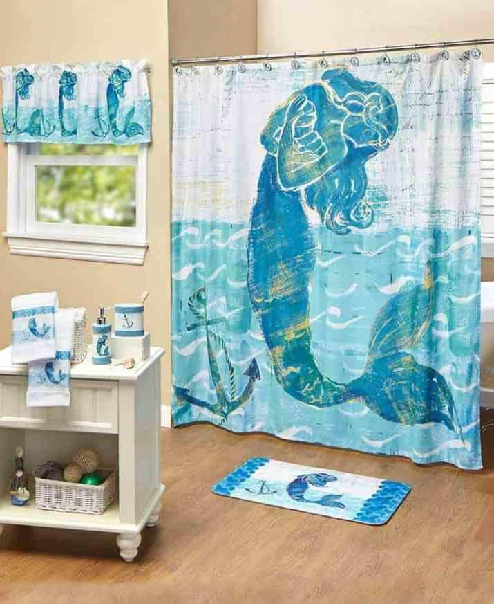Comfortable Mermaid Bathroom