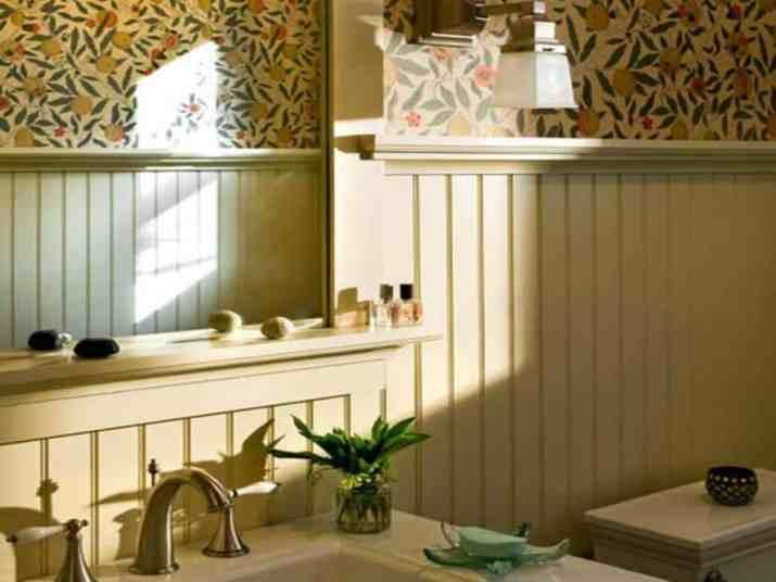 Lovely Beadboard Bathroom