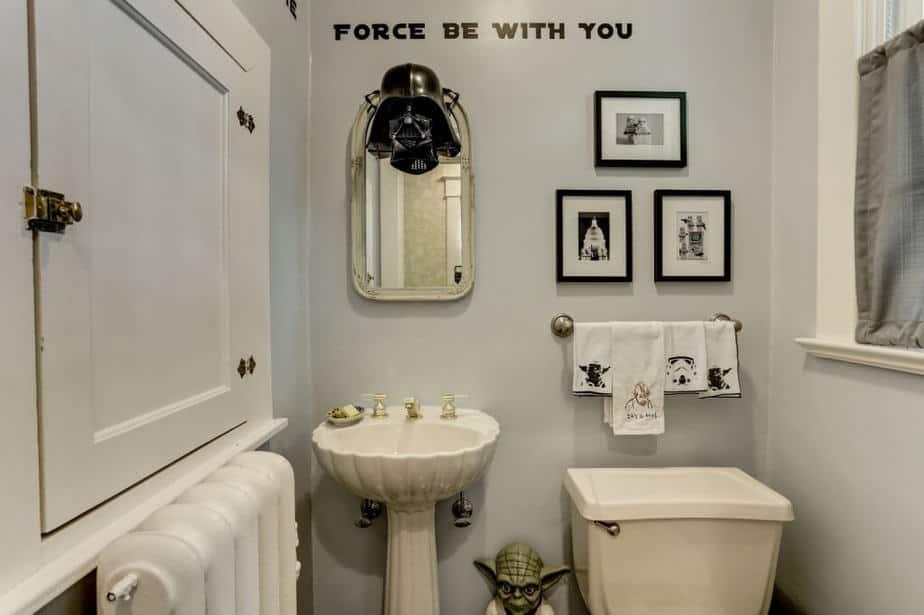 10 Star Wars Bathroom Ideas 2021 The, Star Wars Bathroom