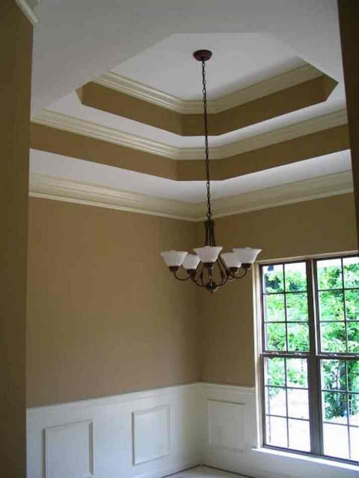 Tray Ceiling Paint Idea