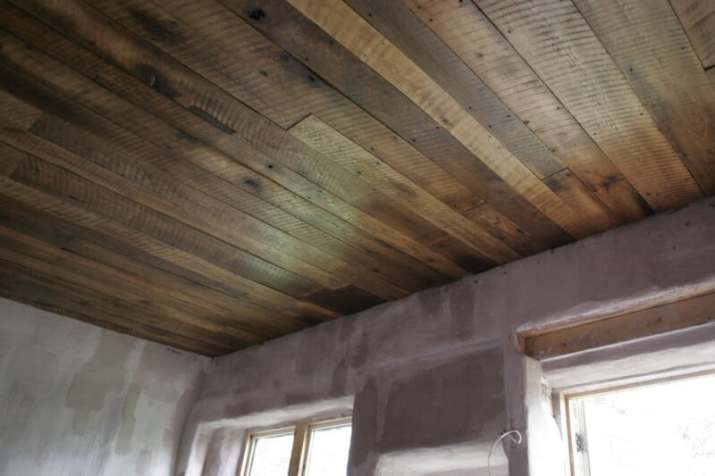 simple Wood Ceiling Ideas for Basement