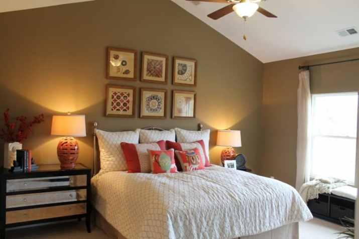 good Vaulted Ceiling Bedroom Ideas