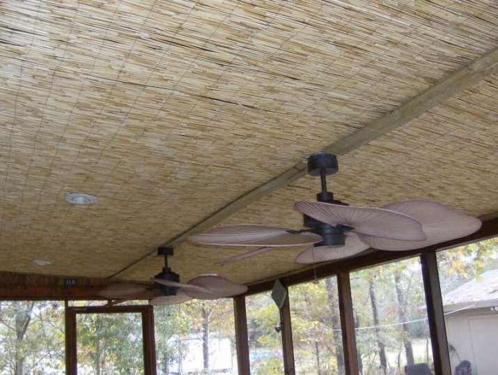 natural Alternative Basement Ceiling Ideas