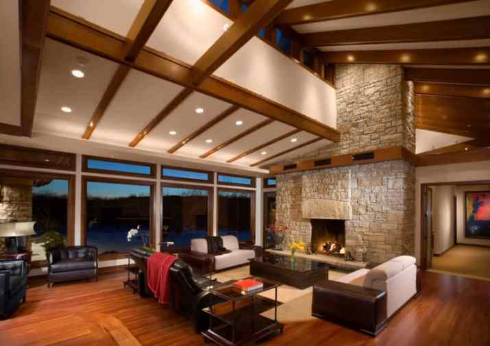 perfect Vaulted Ceiling Living Room Ideas
