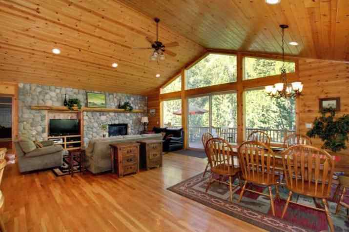 cool Cabin Wood Ceiling Ideas
